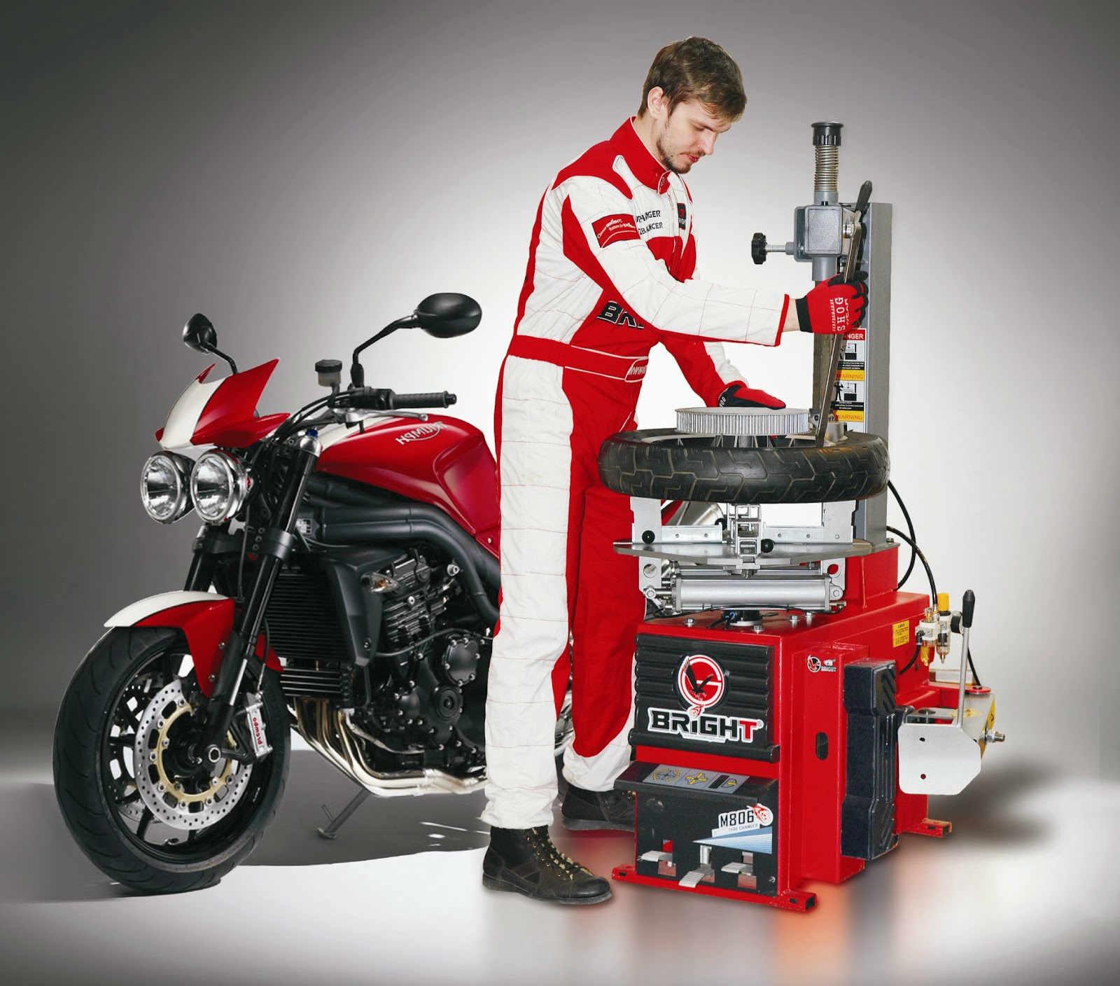 Шиномонтажный станок для мотоциклов