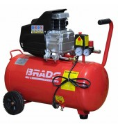 Компрессор 1,8 кВт. 220в. 50л.  BRADO (IBL50B)