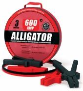 Провода пусковые усиленные 600а. 3м. ALLIGATOR (600А)