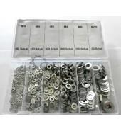 Набор стальных прокладок, шайбы (900шт) GEKO (G02808)