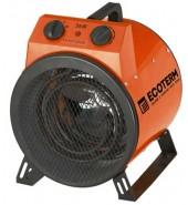 Нагреватель воздуха электр, пушка, 2 кВт., 220В ECOTERM (EHR-02/1A)