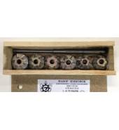 Набор зенкеров для ремонта седел клапанов двигателя 6 зубов РОССИЯ (2112)