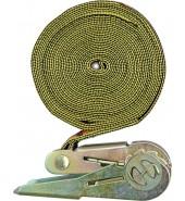 Ремень стяжной с трещот. 25ммх5м VOREL (82341)