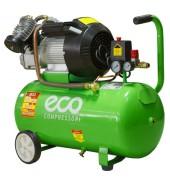 Компрессор (440 л/мин, 8 атм., ресив. 50 л, 220 В, 2.20 кВт) ECO (AE-502-1)
