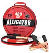 Провода пусковые усиленные 400а. 2,5м. ALLIGATOR (400А)