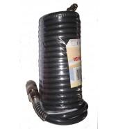 Шланг полиэт. спиральный ф 6,5/10 мм с быстросъемн. соед. (длина 5 м) LUXI  (LX-0565)