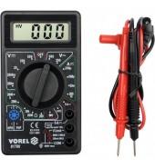 Цифровой мультиметр VOREL (81780)