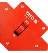 Струбцина магнитная для сварки 107х160х26мм (13,5кг.)  YATO (YT-0870)
