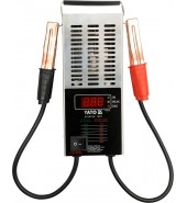 Тестер аккумуляторов цифровой 12V, CCA150-1400A LED YATO (YT-8311)