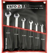 Набор ключей шарнирных 8-19мм (6шт.) YATO  (YT-4960)