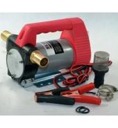 Насос для перекачки топлива и масла стационарный 12в. SILVER  (CPN-1224)