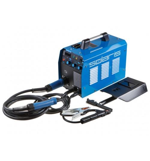 Полуавтомат сварочный (MIG-MAG/FLUX/MMA) с горелкой 3м SOLARIS (TOPMIG-223WG3)