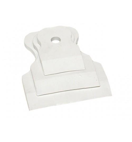 Набор шпателей резин.белых 3 шт. 40,60,80мм STARTUL (ST1122-3)