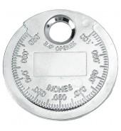 Щуп (монетка) для измерения зазоров  (0.6-2.4мм) FORCE (63008)