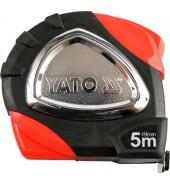 Рулетка с маг. 2-е полот. 5мх19мм (бытовая) YATO (YT-7117)