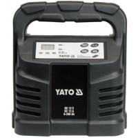Электронное зарядное устройство (12V; 12A; 6-200Ah) YATO (YT-8302)