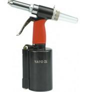 Пневмозаклепочник 2,4-6,4мм. YATO (YT-3618)