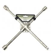 Ключ балонный крестовой усиленный 17х19х21х1/2 ДЕЛО ТЕХНИКИ (531221)