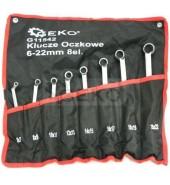 Набор накидных ключей изогнутых 6-22мм (8пр.) GEKO (G11542)