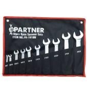 Набор ключей рожковых 6-32мм. (10шт) PARTNER (PA-1010M)