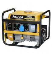 Бензогенератор электростанция 1кв. SKIPER (LT1200)