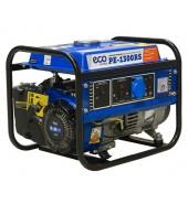 Бензогенератор (1.1 кВт, 230 В, бак 6.0 л, вес 27 кг) ECO (PE-1300RS)