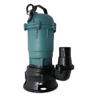 Погружной насос фекальный для грязной воды с измельчителем и поплавком EUROTEC (P233)