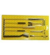 Набор аксессуаров для чистки краскопульта 17пр. PARTNER (PA-1709)