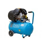 Компрессор (440 л/мин, 8 атм, коаксиальный, масляный, ресив. 50 л, 220 В, 2.20 кВт) DGM (AC-254)