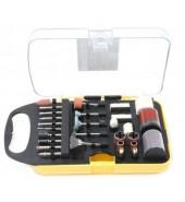 Набор аксессуаров для мини-дрелей, 71пр., в пластиковом кейсе FORSAGE (F-GSK071)