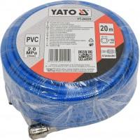 Шланг ПВХ с фитингами для воздуха 10ммx20м YATO (YT-24225)