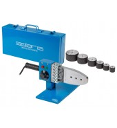 Сварочный аппарат для полимерных труб (1000 Вт; 6 насадок: 20, 25, 32, 40, 50, 63 мм) SOLARIS (PW-1001)