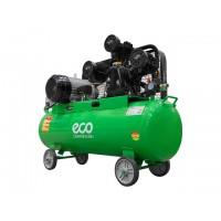 Компрессор (580 л/мин, 8 атм, ременной, масляный, ресив. 100 л, 380 В, 3.00 кВт) ECO (AE-1005-2)