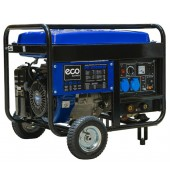 Электростанция сварочная (5,5кВт) бенз. (Для сварки постоянным током, вес 110 кг) ECO (PE-6500RW)