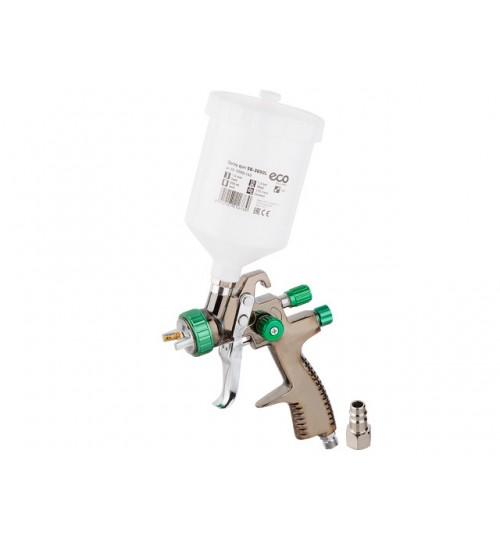 Краскораспылитель (LVLP, сопло ф 1.4 мм, верх. бак 600 мл) ECO (SG-3000L14U)
