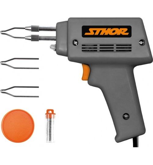 Электропаяльник импульсный (230V, 100W) STHOR (79354)