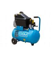 Компрессор  (235 л/мин, 8 атм, коаксиальный, масляный, ресив. 24 л, 220 В, 1.50 кВт) DGM (AC-127)