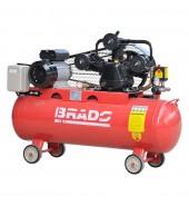 Компрессор ременной 100л. (3,3 кВт. 220в. 600л/мин) BRADO (IBL3100A)