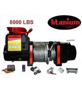 Лебедка Электрическая 3600кг. 12в. 8000Lbs TITANIUM (J10)