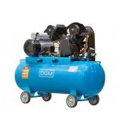 Компрессор (380 л/мин, 8 атм, ременной, масляный, ресив. 100 л, 220 В, 2.20 кВт) DGM (AC-2100)
