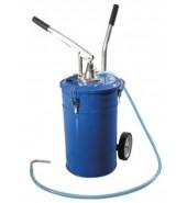 Бачок для нагнетания масла 20л. с рычажным нагнетателем PARTNER (PA-1002)