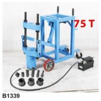 Мобильный пресс гидравлический для съёма шкворней грузовых автомобилей на колесах 75т FORSAGE (F-B1339)