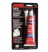 Герметик для прокладок высокотемпературный (Красный) ABRO (11-AB-R)