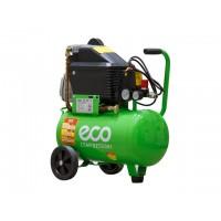 Компрессор (260 л/мин, 8 атм, поршневой, масляный, ресив. 24 л, 220 В, 1.80 кВт) ECO (AE-251-4)