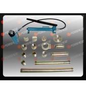 Набор гидравлического оборудования для кузовных работ (растяжка), 20т, 17пр, в двух металлических кейсах FORSAGE (F-0020B)