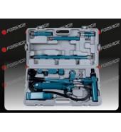 Набор гидравлического оборудования для кузовных работ (растяжка), 4т, 14пр, в кейсе FORSAGE (F-70402S)