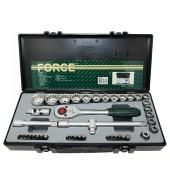 """Набор инструмента 1/2"""" 42пр. (10-32мм, универс.профиль) FORCE (4422Q)"""