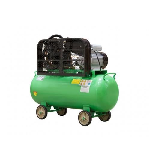 Компрессор (380 л/мин, 8 атм, ременной, масляный, ресив. 100 л, 220 В, 2.20 кВт) ECO (AE-1005-B1)