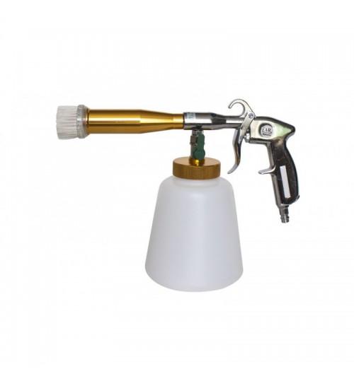 Пистолет пневматич.''Tornado''для химчистки а/м с медной трубкой подачи моющего ср-ва и щеткой-насадкой''Profi' FORSAGE (F-203810)