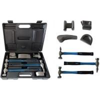 Набор инструментов рихтовочных для кузовных работ 7пр., в кейсе FORSAGE (F-50713B)